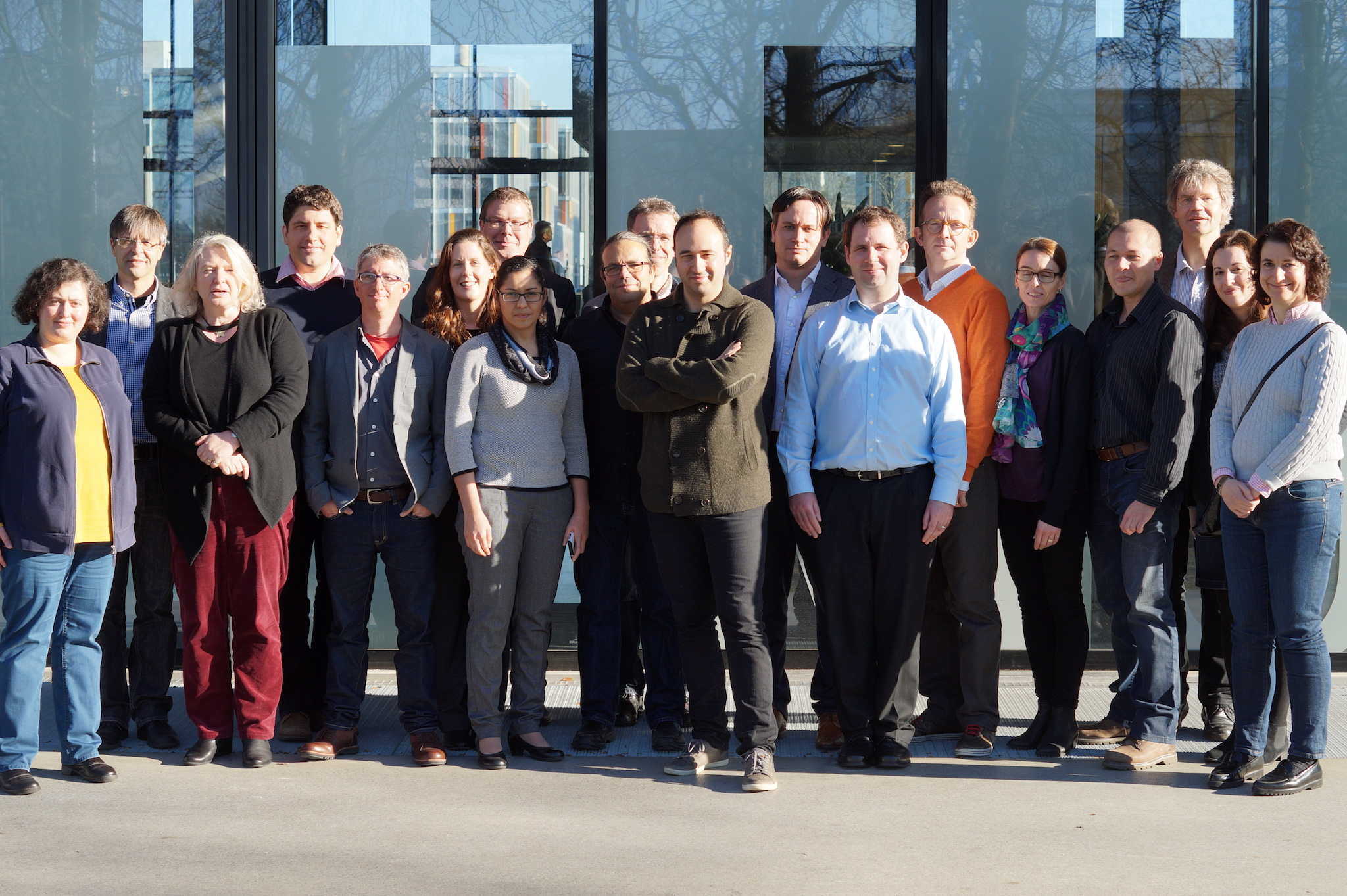 The peoplebehind Privacy & Us project at the kick-off meeting in Munich, December 2015